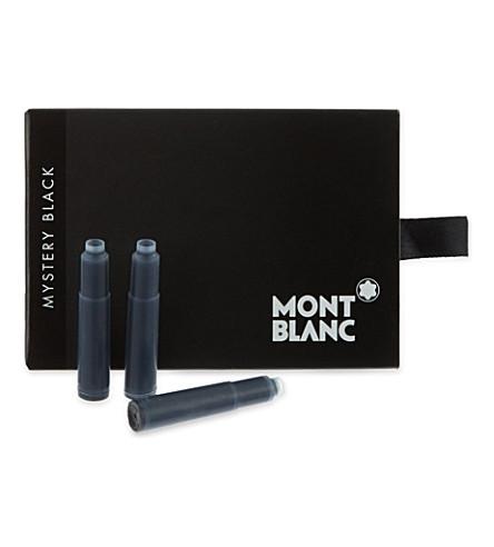 MONTBLANC Ink cartridges mystery black