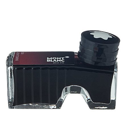 MONTBLANC Ink bottle burgundy red 60ml
