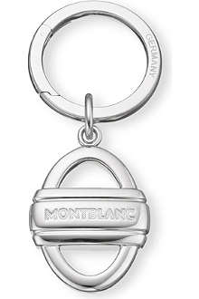MONTBLANC Stainless steel keyring