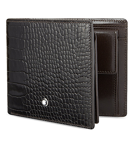 MONTBLANC Meisterstück selection wallet with coin case
