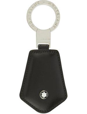 MONTBLANC - Meisterstück leather keyring  ff42ed78cf