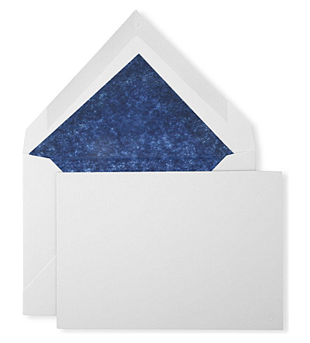 MONTBLANC Ten cards and envelopes
