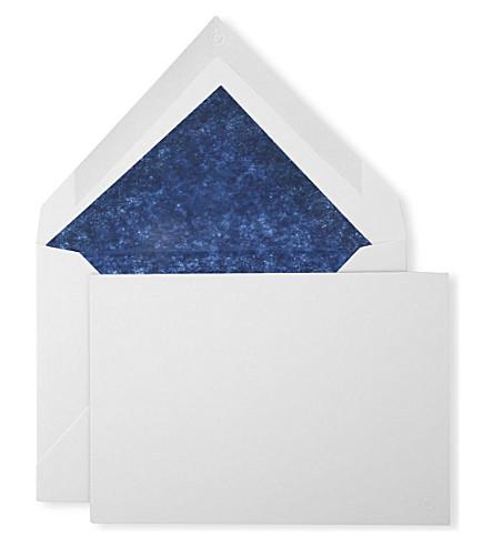 MONTBLANC 十卡片和信封
