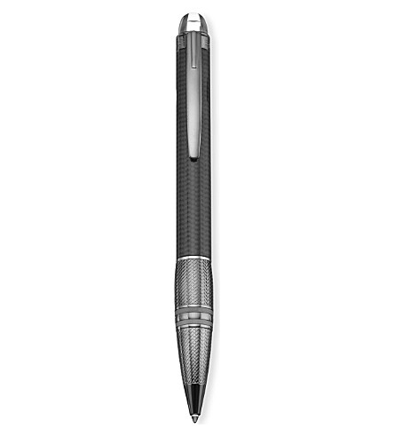 MONTBLANC Starwalker Ultimate Carbon ballpoint pen