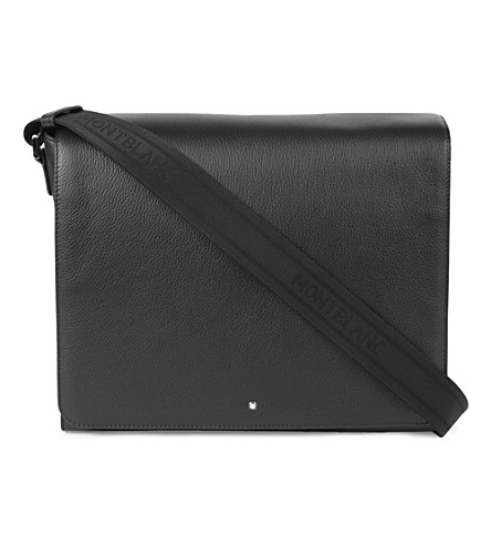MONTBLANC Meisterstück leather messenger bag