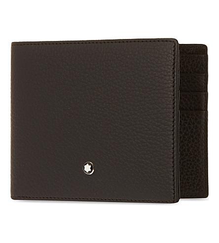 MONTBLANC Meisterstück soft grain 6 credit card wallet