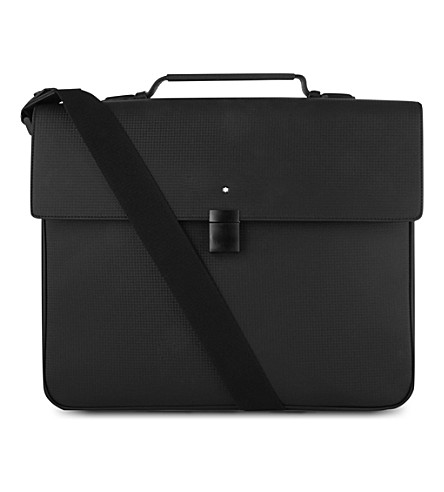 MONTBLANC Westside Extreme single-gusset briefcase