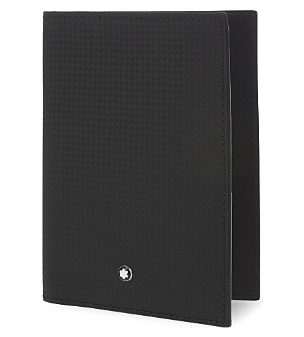 MONTBLANC Westside extreme leather passport holder