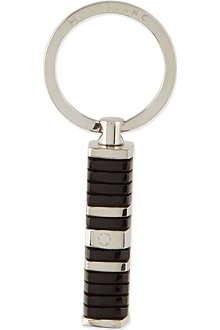 MONTBLANC Black resin key ring