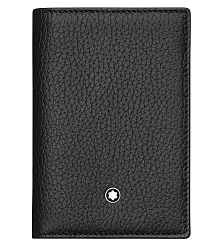 MONTBLANC Meisterstück soft grain trifold wallet