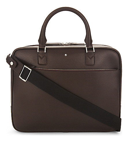 MONTBLANC Sartorial leather briefcase