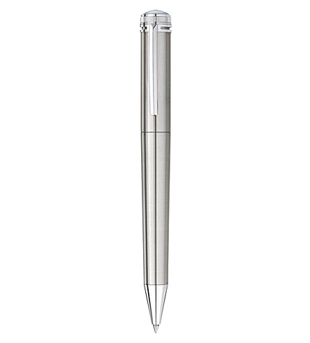 MONTBLANC Heritage 1912 stainless steel capless rollerball pen