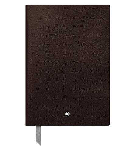 MONTBLANC Fine stationary lined notebook