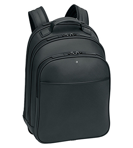 MONTBLANC Extreme leather rucksack (Black