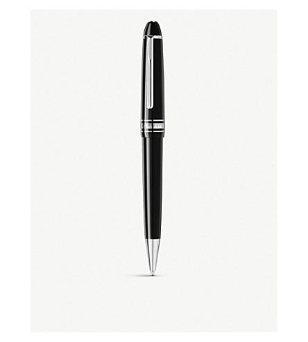 MONTBLANC Meisterstuck platinum line midsize ballpoint pen