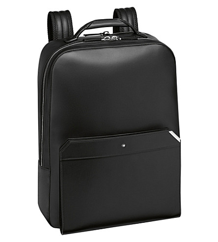 MONTBLANC Urban Spirit large leather backpack