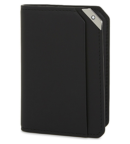 MONTBLANC Urban spirit leather card holder