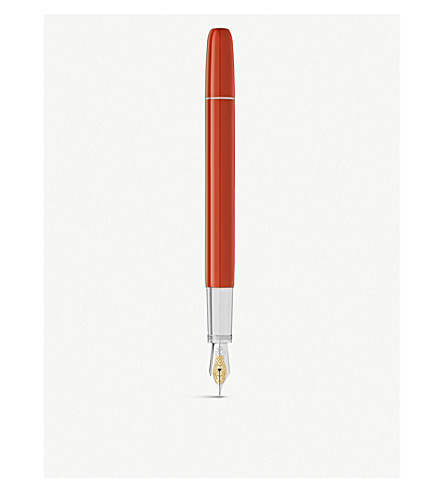 MONTBLANC Heritage collection rouge et noir fountain pen