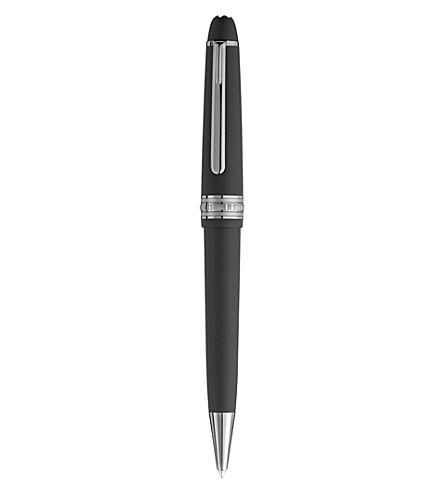 MONTBLANC Meisterstuck midsize ultra black ballpoint pen
