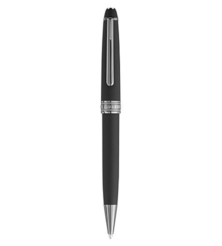 MONTBLANC Meisterstuck 164 classique ultra black ballpoint pen