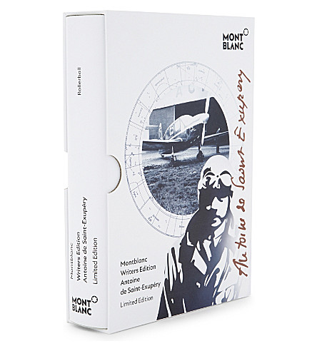 MONTBLANC Writer's Edition Antoine Saint-Exupéry rollerball pen