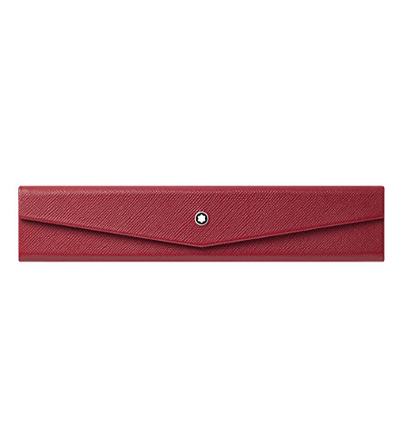 MONTBLANC Sartorial 1 leather pen pouch