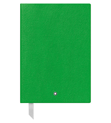 MONTBLANC Fine stationary 146 lined leather notebook
