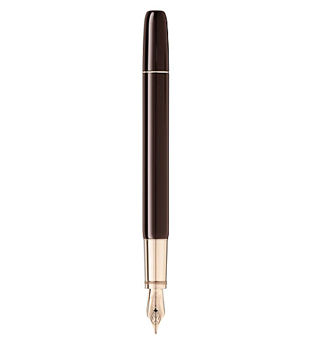 MONTBLANC Heritage Rouge & Noir Special Edition fountain pen