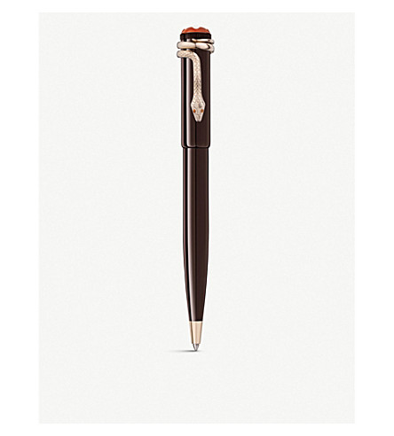 MONTBLANC Heritage Rouge & Noir Special Edition ballpoint pen