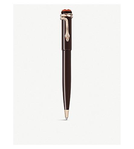 MONTBLANC 传统胭脂和黑色特别版圆珠笔