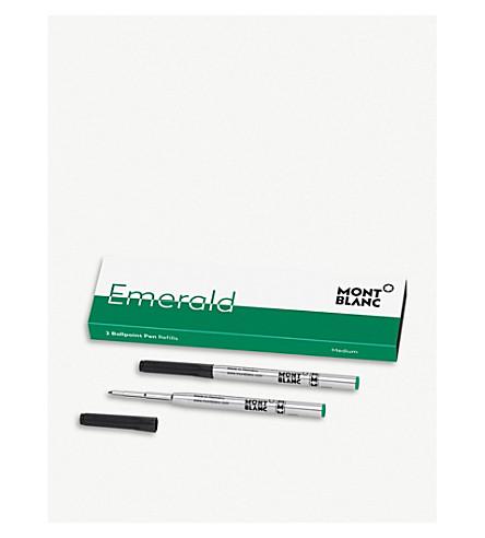 MONTBLANC Emerald Green ballpoint pen refill