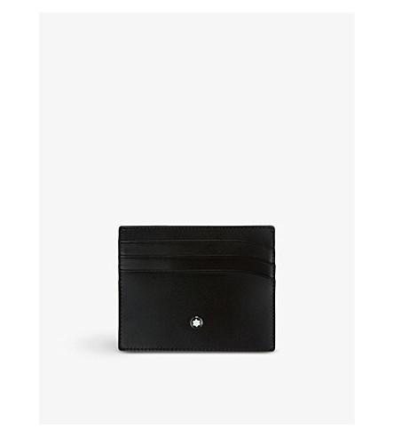 MONTBLANC Meisterstück pocket card holder (Black