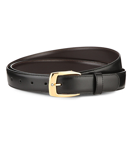 Reversible leather belt(5562)