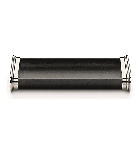 GRAF VON FABER-CASTELL 黑色钢笔托盘