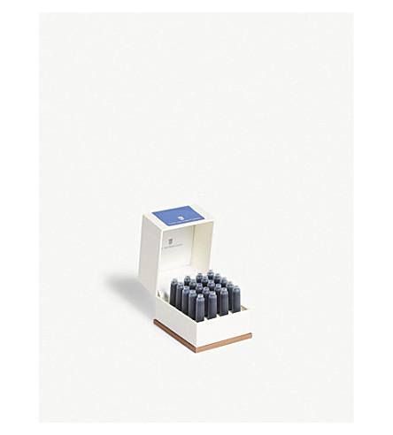 GRAF VON FABER-CASTELL Ink cartridges set of 20