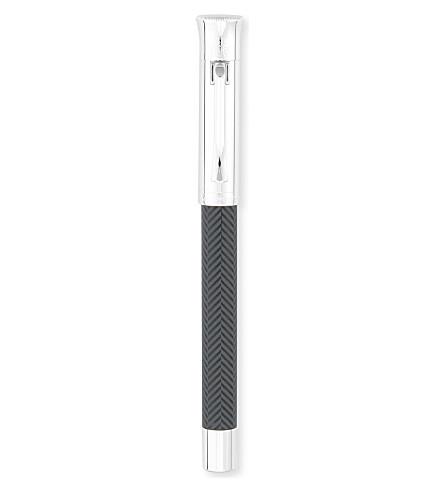 GRAF VON FABER-CASTELL Medium cisele guilloche cisele fountain pen