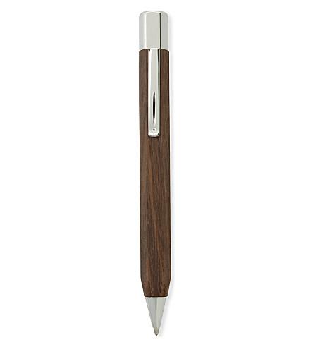 FABER CASTELL Ondoro smoked oak rollerball pen