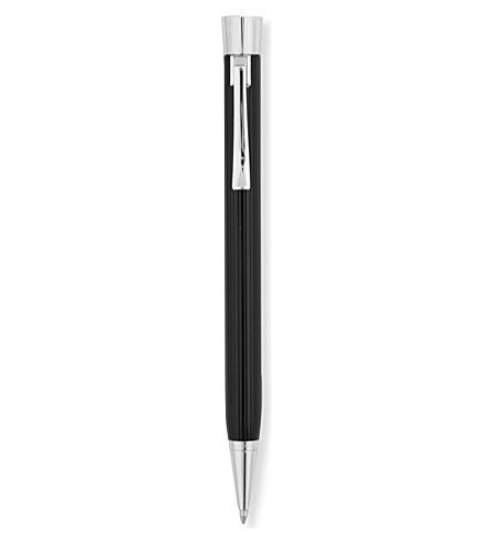GRAF VON FABER-CASTELL Intuition Fluted ballpoint pen black