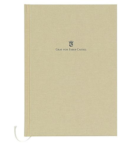 GRAF VON FABER-CASTELL Linen-bound notebook A5