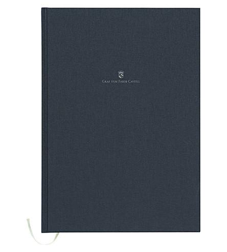 GRAF VON FABER-CASTELL Linen-bound notebook A4