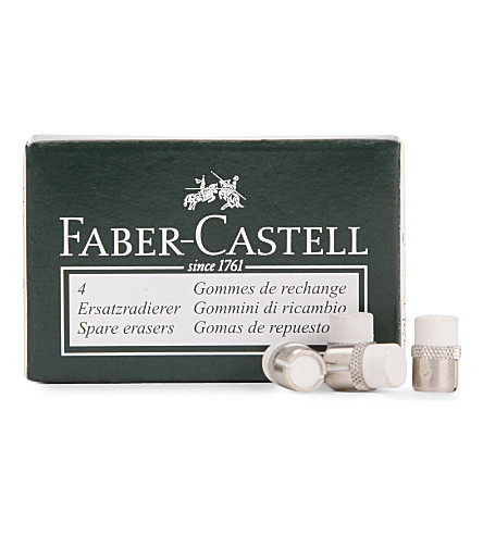 FABER CASTELL Pack of erasers