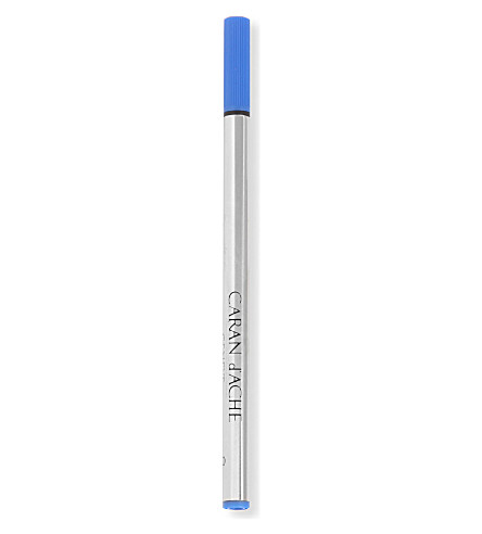 CARAN D'ACHE Dacron blue medium refill