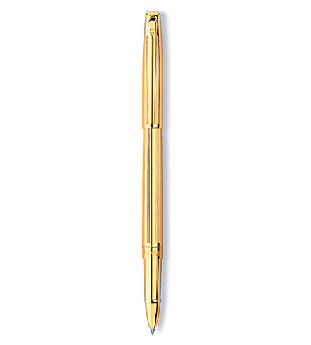 CARAN D'ACHE Madison Cisele gold-plated rollerball pen