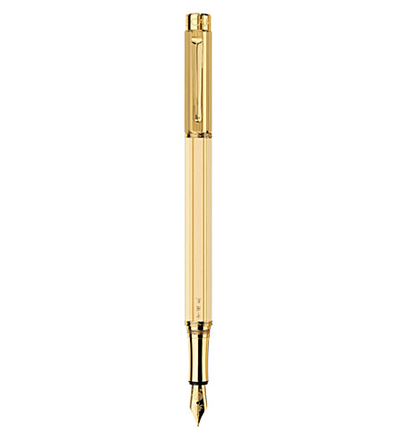 CARAN D'ACHE China ivory gold-plated fountain pen