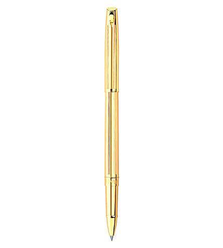 CARAN D'ACHE Madison ciselé gold-plated roller pen