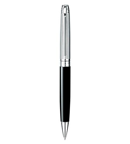 CARAN D'ACHE Léman rhodium-coated silver ballpoint pen