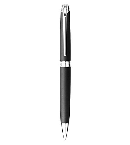 CARAN D'ACHE Leman matt rhodium-plated ballpoint pen