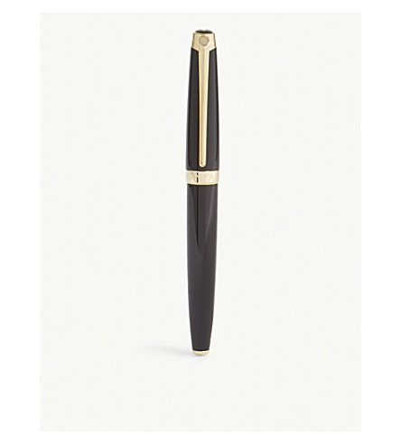 CARAN D'ACHE Léman Ebony Black fountain pen