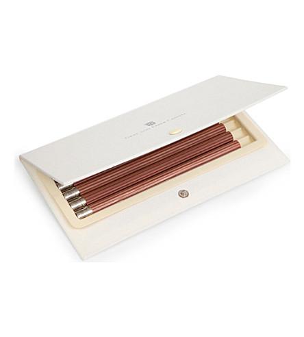 GRAF VON FABER-CASTELL 五套豪华木制铅笔