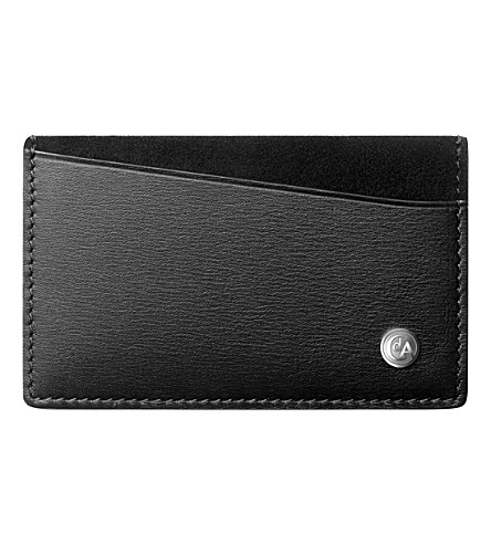 CARAN D'ACHE Multi-card leather holder